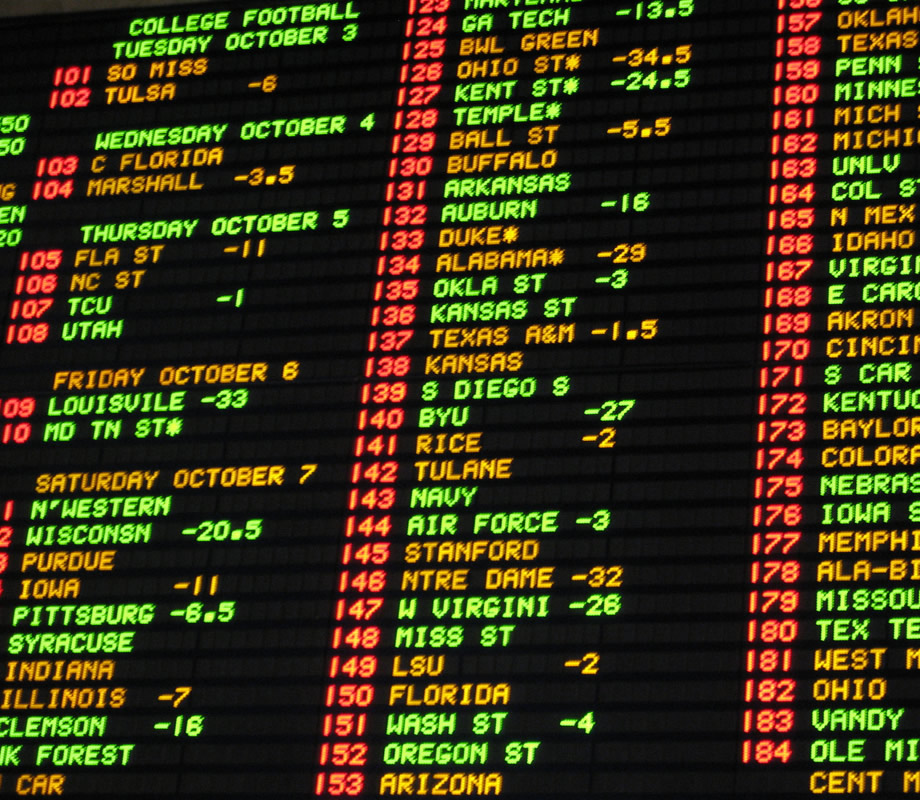 new york new york las vegas sports book niners spread