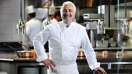 Chef Guy Savoy has innovative holiday dishes on the menu for Christmas Day.