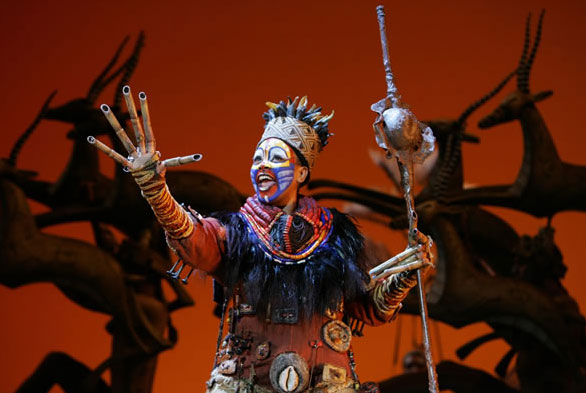 "Disney's ""The Lion King"" has its final performance in Las Vegas on Dec. 30."