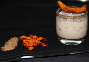 Pumpkin pie cocktail is one of 42 new beverages recently introduced at Mirage bars.