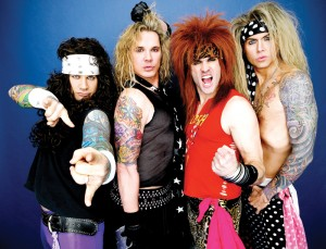 With Steel Panther at TributePalooza, it's like hair metal never died.