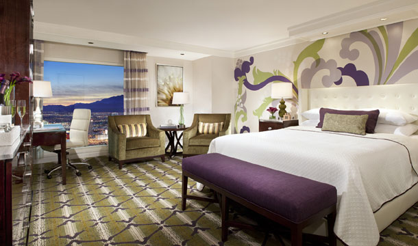 Green Tea and Plum King Room at Bellagio