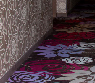 The hallways at the MGM Grand have also undergone a facelift to add fresh carpeting and ultramodern accents.