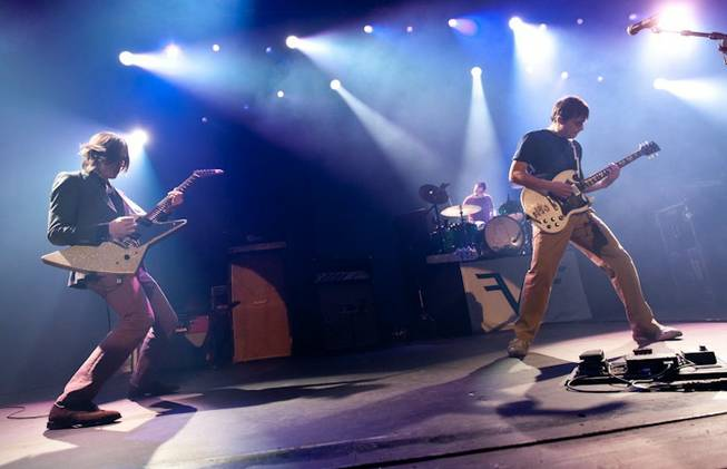 Weezer rocks at The Joint in 2011. Photo: Las Vegas Sun / Erik Kabik