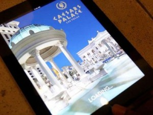 The exclusive web application in Octavius Tower at Caesars Palace