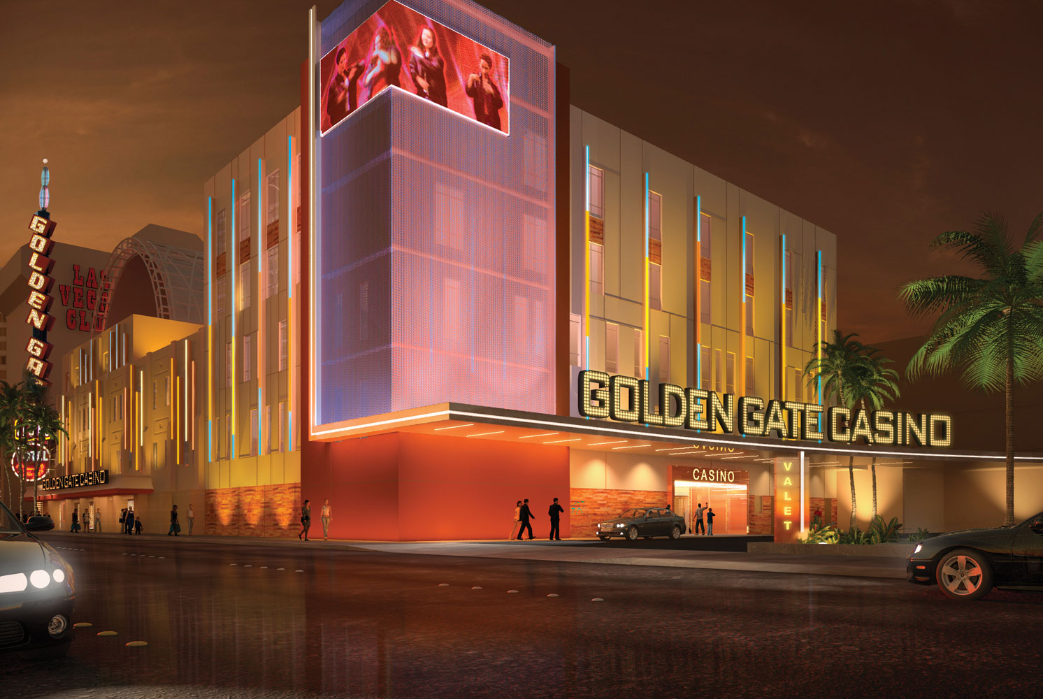 A Rendering Of The Golden Gate Expansion Project