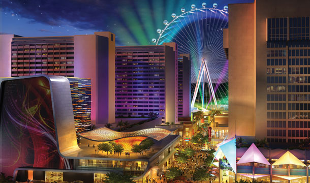 A rendering of The Linq