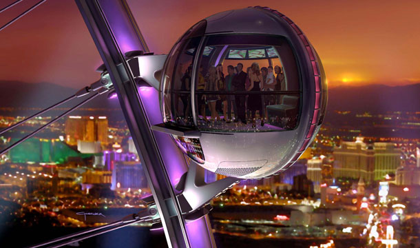 A rendering of The High Roller