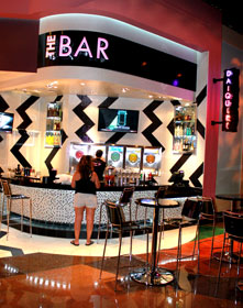The Bar at Blizz Frozen Yogurt