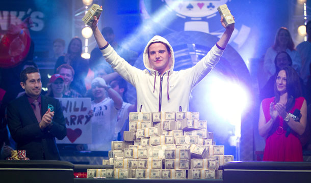 Pius Heinz wins the Main Event at the 2011 World Series of Poker