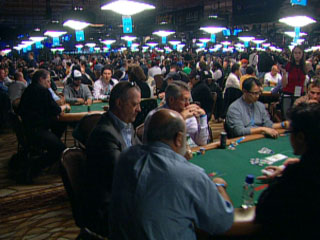 Action at the 2011 World Series of Poker
