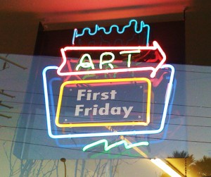 Downtown puts its best foot forward for the First Friday of every month.