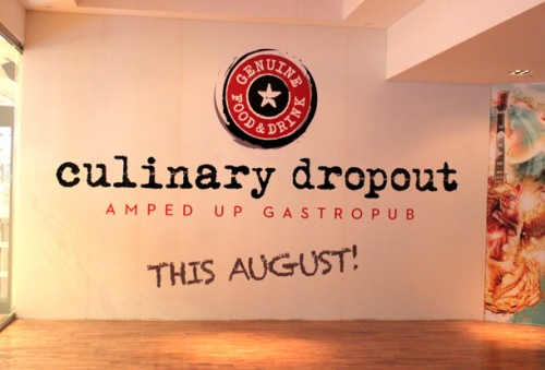 The site of Culinary Dropout