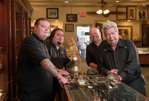 "The stars of ""Pawn Stars"""