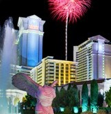 Fireworks at Caesars Palace