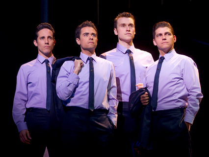 """Jersey Boys"" at Paris Las Vegas"