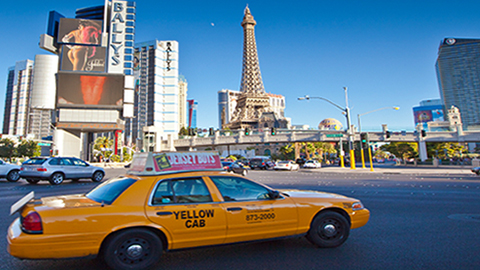 Yellow Cab in Las Vegas