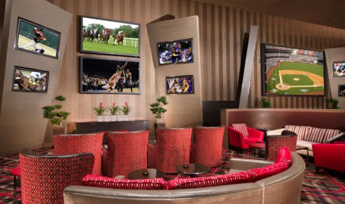 The Race & Sports Book at Aria Resort & Casino