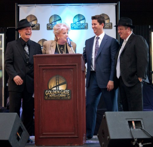 Mayor Carolyn Goodman at the relaunch party at the Golden Gate Hotel & Casino in downtown Las Vegas