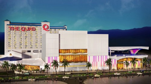 A rendering of The Quad Resort & Casino