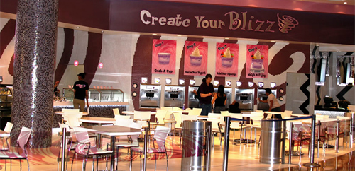Blizz Frozen Yogurt & Desserts at MGM Grand