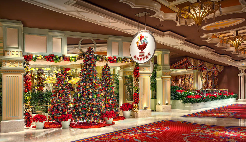 Las Vegas Lights Up With Whimsical Holiday Attractions