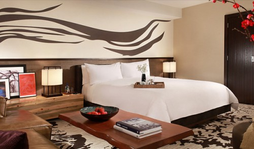 Room at Nobu Hotel in Caesars Palace