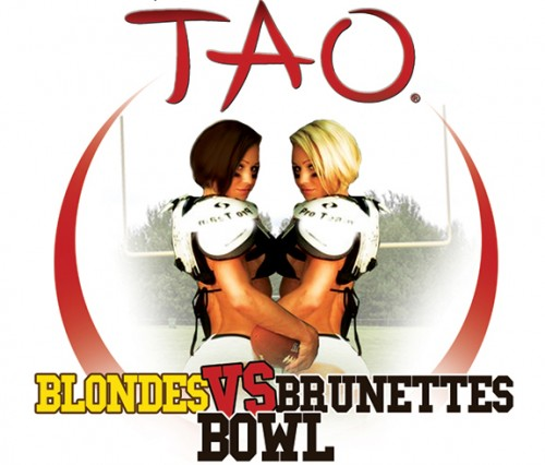 Blondes vs Brunettes Bowl at TAO