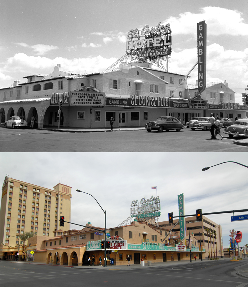 El Cortez through the years