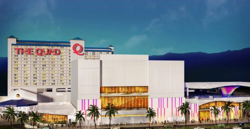 A rendering of The Quad Resort & Casino in Las Vegas