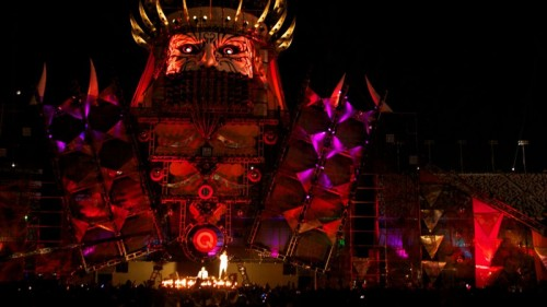 Stage at EDC Las Vegas 2012