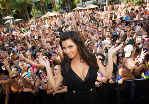 Kim Kardashian at Rehab at the Hard Rock Hotel & Casino