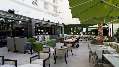Enjoy brunch on the patio at Culinary Dropout in the Hard Rock Hotel & Casino