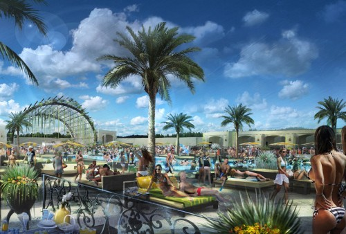 A rendering of Daylight Beach Club