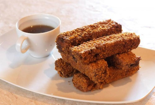 French toast sticks from Heraea at the Palms