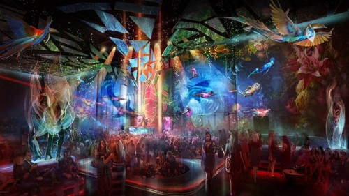 Rendering of Light Nightclub at Mandalay Bay