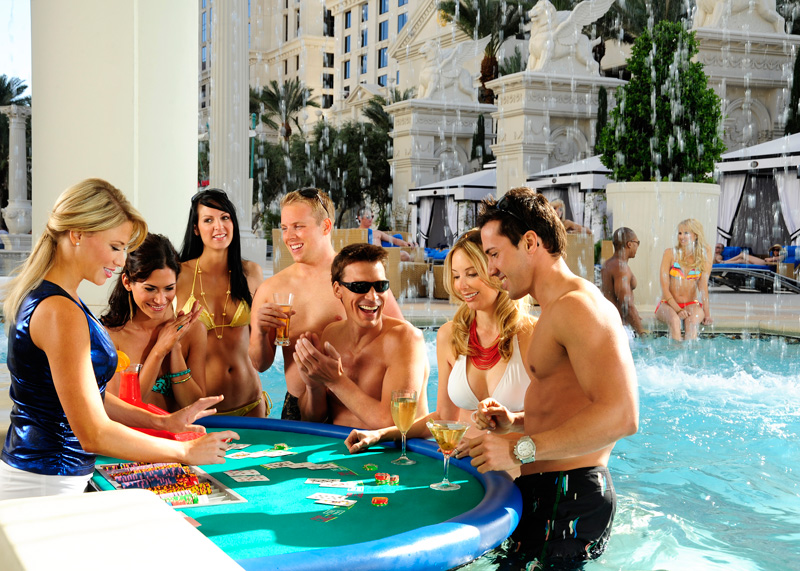 10 of the most awesome hotel pools in vegas las vegas blogs for Garden of gods pool oasis