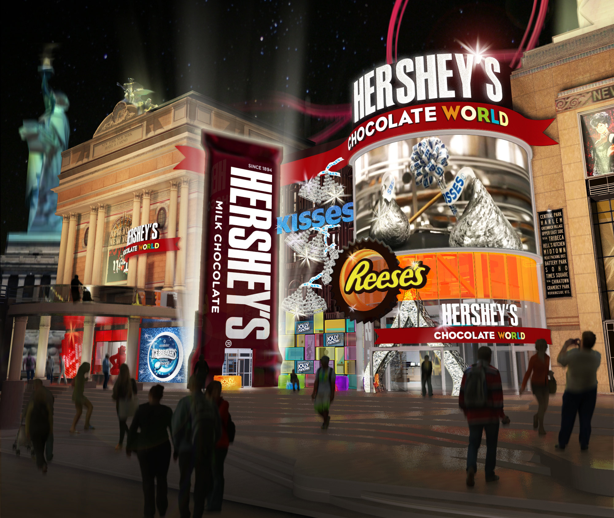 Hershey's Chocolate World to open in Vegas this winter at NY – NY ...