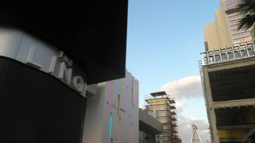 New signage installed at The Linq