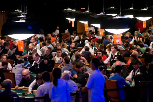 Players at the 2013 Word Series of Poker at Rio Las Vegas