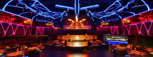 The main room at Hakkasan