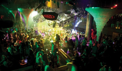 Haze Nightclub  at Aria in Las Vegas