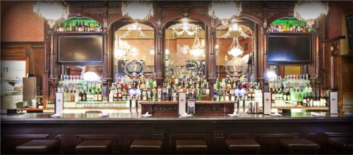 The main bar at Ri Ra