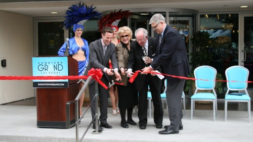 Downtown Grand ribbon cutting