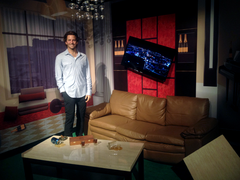 "Bradley Cooper in the ""Hangover"" suite 