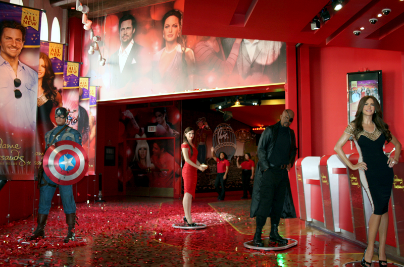 Madame Tussauds assembles The Avengers on the Las Vegas ...