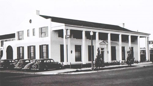 A photo of the Boulder Dam Hotel (1936)