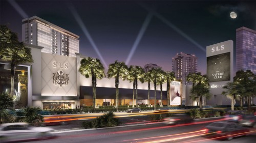 Rendering of SLS Las Vegas