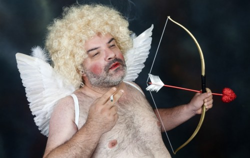 Unusual Cupid (image from Photos.com)