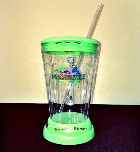 Margaritaville's signature Booze in the Blender cup